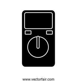 electric test meter device icon