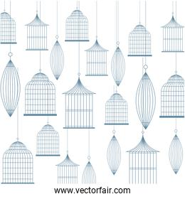 birdcage background design