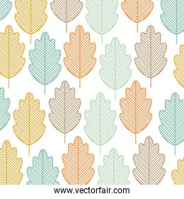 leaves background design
