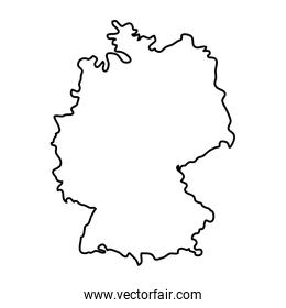 germany country map design