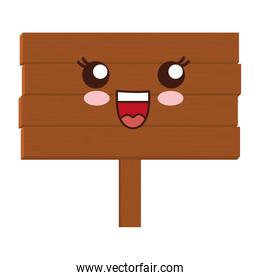 wooden road sign icon
