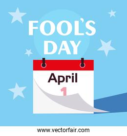 april fools day calendar first day