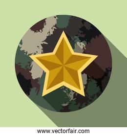 Military forces design.