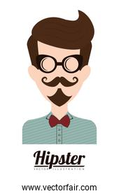 hipster style , Vector Illustration