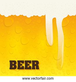 Beer design. illuistration