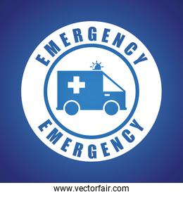 Emergency design illustration