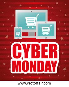Cyber mondays e-commerce promotions and sales
