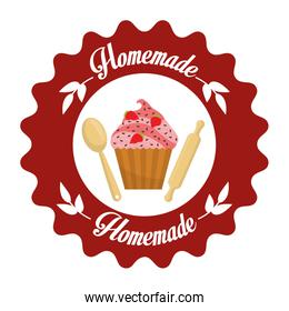 Homemade dessert graphic