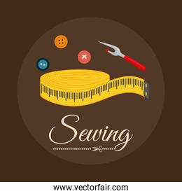Sewing icon design