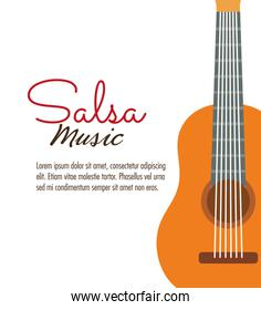 guitar icon. Music instrument. vector graphic