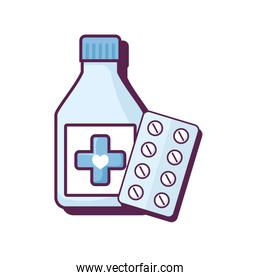 bottle drugs with pills