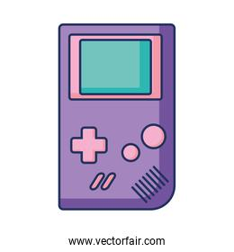 gameboy retro device with color pastel