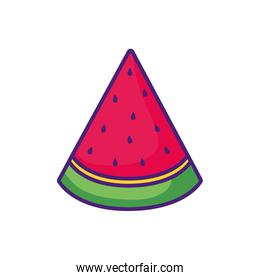 healthy watermelon fruit icon
