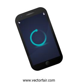 smartphone device isolated icon vector illustration