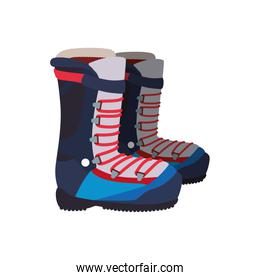 boots snowboard sport icon