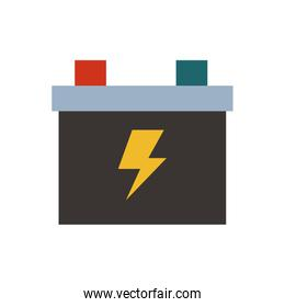 solar panel energy with recycling arrows vector illustration
