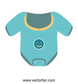 baby clothes isolated icon