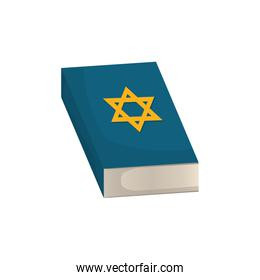 jewish holy book with star