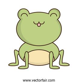 cute frog icon