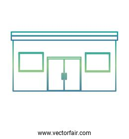 store building isolated icon