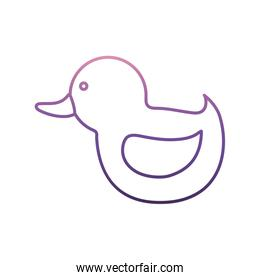 duck toy icon
