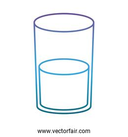 glass with water icon
