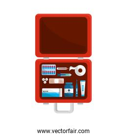 color first aid kit icon