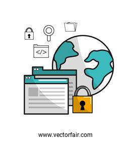 global security information data connection service