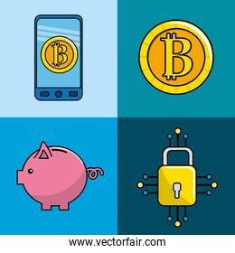 security digital information to bitcoin currency