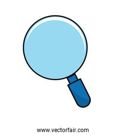magnifying glass tool to search and read