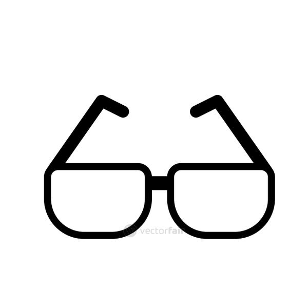 line glasses element to can see