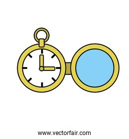 clock of pocket to know the time