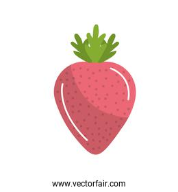 delicious and healthy strawberry fruit