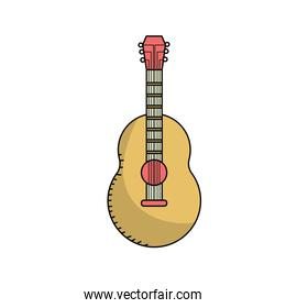 guitar musical instrument to play music