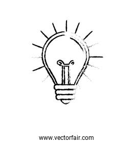 figure light bulb idea to creative invention