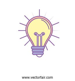 light bulb idea to creative invention