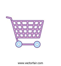 technology shopping car to buy online