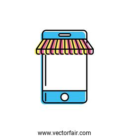 technology smartphone to business information