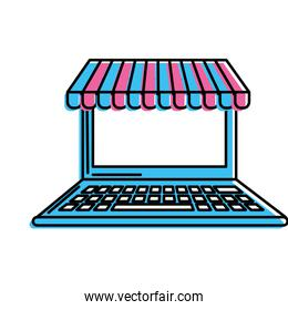 technology laptop to business information