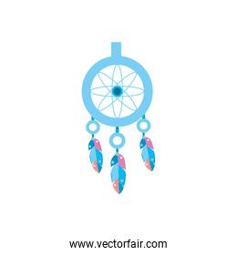 dream catcher with feathers design