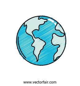 global earth planet to geography ubication