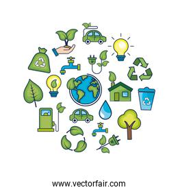 ecology conservation to natural environment protection