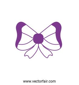 silhouette ribbon bow to decoration design event