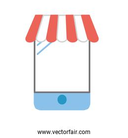 technology smartphone to buy and sell products online