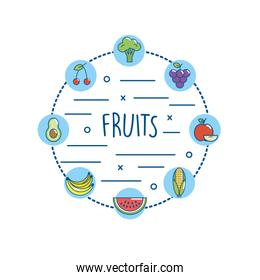 delicious fruits and vegetables nutriton diet