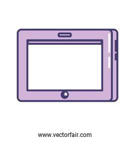 tablet technology touch and digital screen