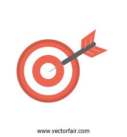 dart target board to strategy competition