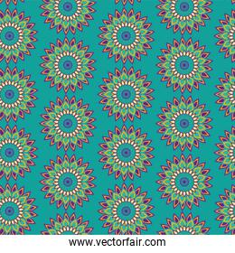 flower ornament mandala decoration background