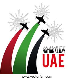 military airplanes with firewords to national day