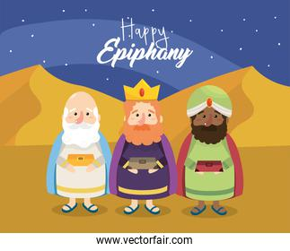 gaspar with melchior and balthazar to happy epiphany